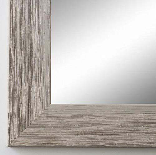 Online Galerie Bingold Spiegel Wandspiegel Badspiegel - Florenz Grau 4,0 - handgefertigt - 200 Größen zur Auswahl - Modern, Landhaus - 50 x 70 cm