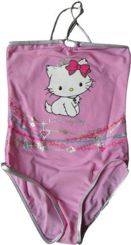 Charmmy Kitty Badeanzug - Charmmy Kitty Glitzerbänder - Rosa von Hello Kitty Sanrio