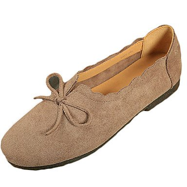 Wuyulunbi @ Femmes Chaussures Printemps Automne Confort Flats Chaussures De Marche Pied Rond Pour Us8 / Eu39 / Uk6 / Cn39