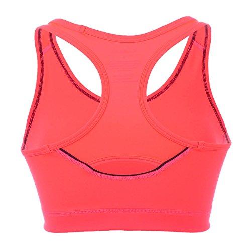 La Isla Femme Soutien-Gorge de Sport Top Sans Armatures Dos Nageur Orange