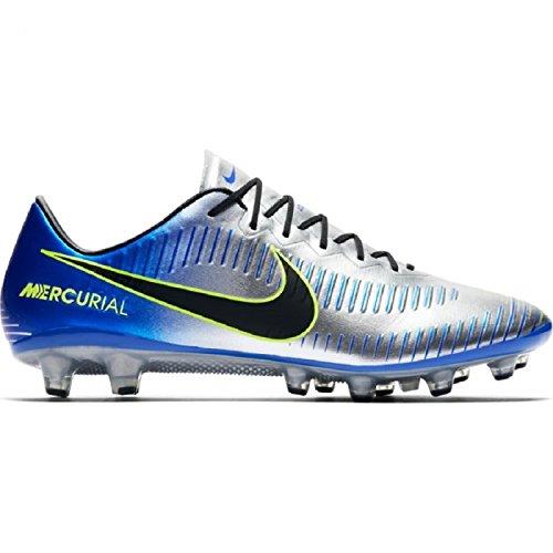 Chaussures de football NIKE Mercurial Vapor NJR Semelle aG-pro Argent Adulte Argent