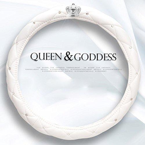 Coprivolante Auto Donna Ragazze Elegante Fashion Diamond Collection auto volante, con corona e diamanti