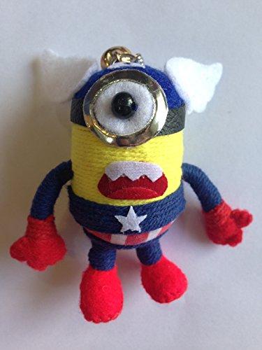 Minion im Captain America Voodoo-Puppe USA, Puppen, -
