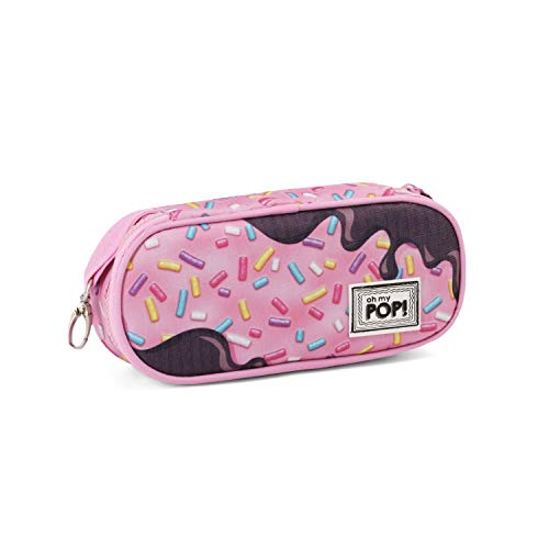 Oh My Pop! Pop! Sprinkles-Pencil Case Federmäppchen, 21 cm, Pink