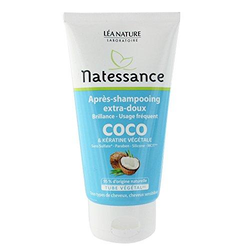 NATESSANCE Après-Shampoing Coco/Kératine Végétale