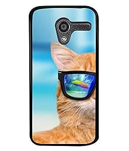 PrintVisa Designer Back Case Cover for Motorola Moto X :: Motorola Moto X (1st Gen) XT1052 XT1058 XT1053 XT1056 XT1060 XT1055 (Closeup Vision Backcover Wallpaper White)