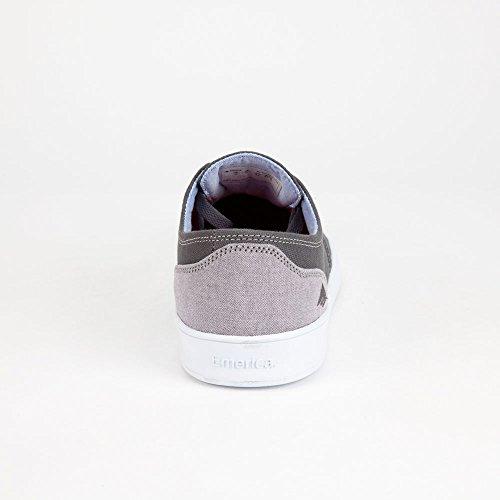 Emerica Laced By Leo Romero-M, Baskets mode homme Dark Grey/ White