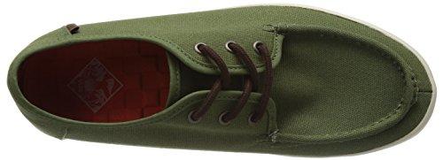 Vans - M Washboard (Tudor) Loden G, Pantofole Uomo Verde (Grün ((Tudor) loden g))