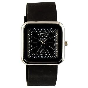 Eton 2897J Black 29 – Reloj para Mujeres, Correa de Silicona Color Negro