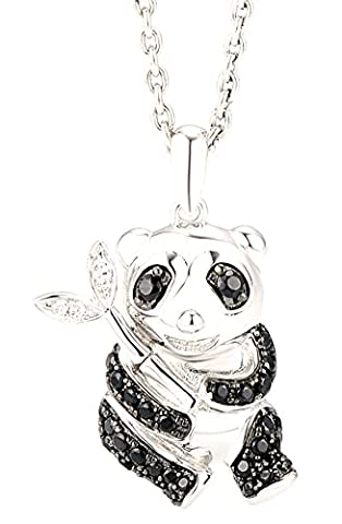 SaySure - Silver Panda Pendant Fit for Necklace For Women