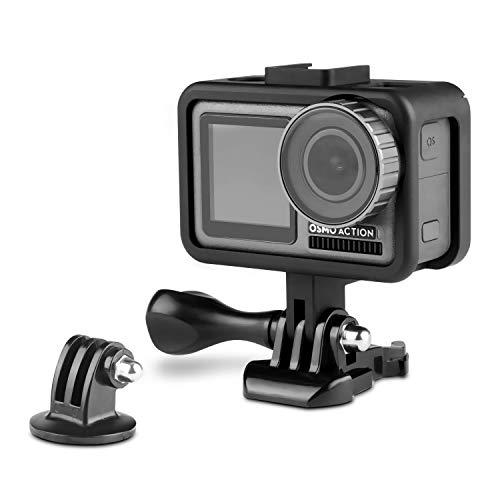 iTrunk Rahmen für die DJI OSMO Action Kamera, Aluminiumlegierungs Schutzhülle, Gehäuse Zubehör-Kit für die DJI OSMO Action Kamera -