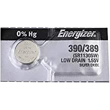 2 pc Energizer 389 390 SR1130SW SR1130W 189 óxido de plata pila