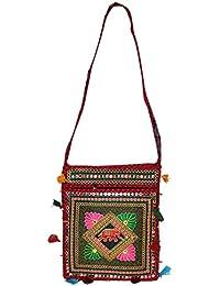 Groovy Latest Design Rasjasthani Sling Bag With Aari Embroidery