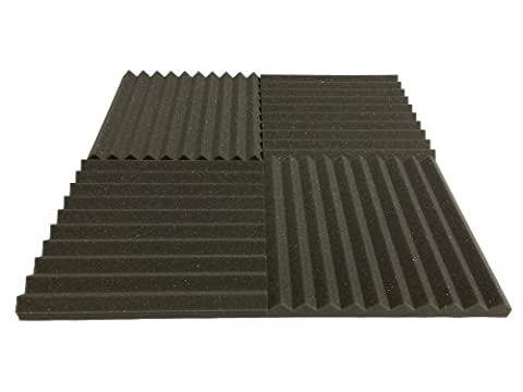 Advanced Acoustics Carreaux de mousse isolant acoustique 38 cm