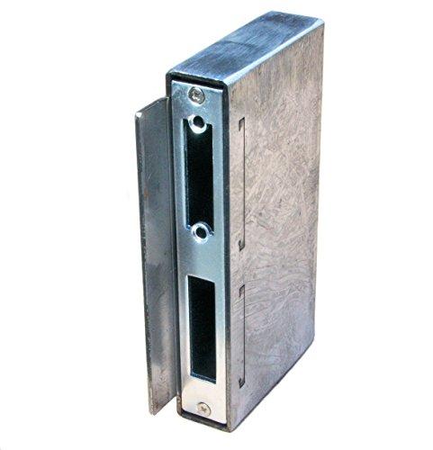 elektrisches fluegeltor UHRIG ® NEU!! Gegenkasten 30 mm breit/tief für Schloßkasten, Schließblech f. elektr. Türöffner #927