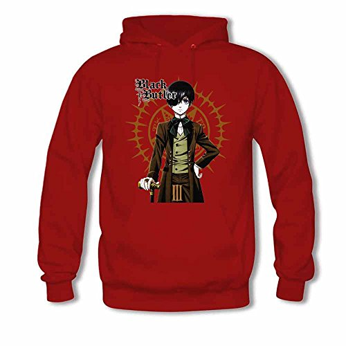 Womens 05 Black Butler Anime Long Sleeve Pullover Hoodie XXL