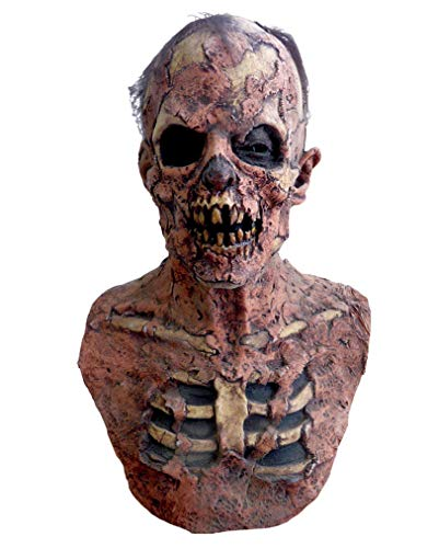 Zombie Groundbreaker Maske für Halloween & Horror Fans (Zombie Halloween Groundbreaker)
