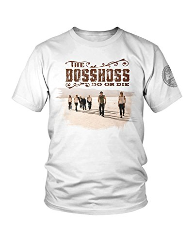 The Bosshoss Die (Limited Best of Collection) T-Shirt Weiss (Medium)