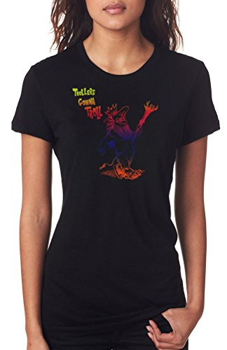 trollers-gonna-troll-funny-ladies-t-shirt-black-small