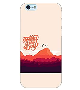 PrintDhaba QUOTE D-7014 Back Case Cover for APPLE IPHONE 6S (Multi-Coloured)
