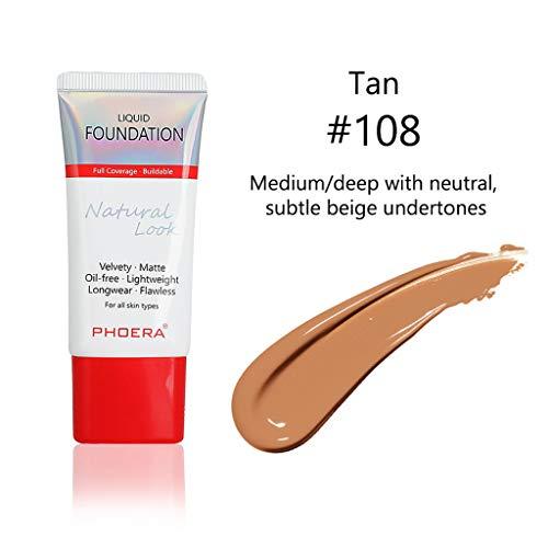 TUDUZ Maquillaje Liquid Base Correctora De Control