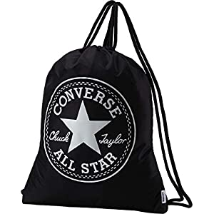 Converse Big Logo Cinch Unisex adulto, mochila, Negro