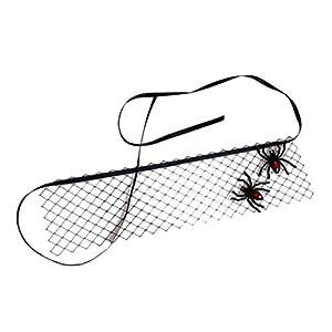Araña Velo Máscara Gótica Venda