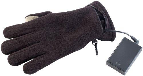 PEARL urban Handwärmer-Handschuhe: beheizbare Handschuhe mit kapazitiven Fingerkuppen, Gr. L (Handy Handschuhe für Touchscreens)