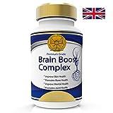 Aumento Del Cervello Nootropics Complesso Di Vitamine Per Memoria, La Messa A Fuoco, La Concentrazione, L'Ottimizzazione Funzione Cognitiva Neurogene. 60 Capsule 2 Mesi. 100% Di Garanzia Di Rimborso