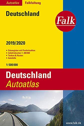 Falk Autoatlas Falkfaltung Deutschland 2019/2020 1:500 000 (Falk Atlanten)