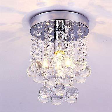 Mao&Long Luz de techo, Luz ambiental de montaje empotrado - Cristal, mini estilo, LED, bombilla de 110-240 V no incluida / 5-10㎡ / E12 / E14