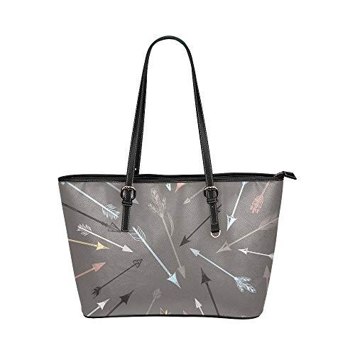 Plosds Schulranzenhandtasche Aufregender Wettbewerb Sportpfeile Lederhandtaschen Tasche Kausale Handtaschen Reißverschluss Schulterorganisator für Damen Mädchen Damen Stilvolle Handtaschen für Frauen