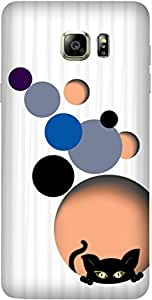 Planet Kiity by Sanskriti Gupta Printed Back Cover Case For Samsung Galaxy Note 5 N920