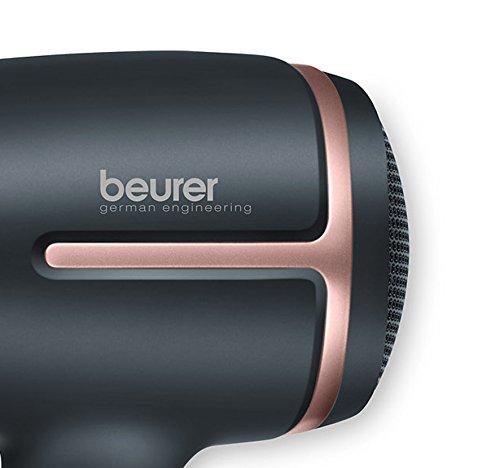 Beurer HC 25 Reisehaartrockner mit Ionenfunktion, 1600 Watt, schwarz/rosé - 6