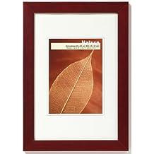 Walther ta824r natura cornice in legno 18x 24colore: bordeaux