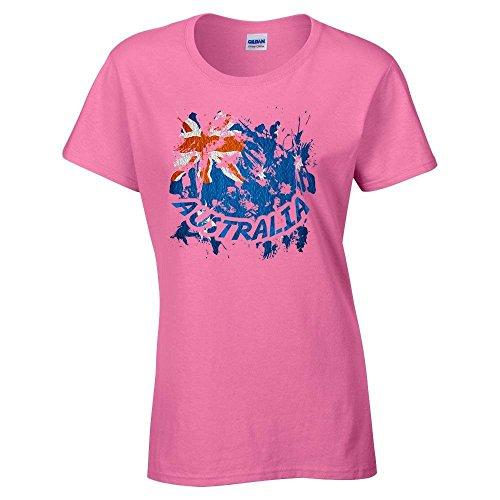 bandiere-firmata-australia-safety-pink-gildan-heavy-cotton-womens-t-shirt-rosa-damen-baumwolle-tee-t