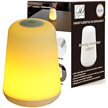 promobo lampe veilleuse ambiance galet zen led lumineux change de couleur. Black Bedroom Furniture Sets. Home Design Ideas