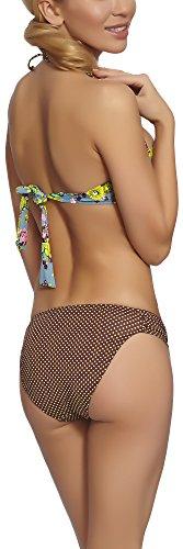 Feba Damen Push Up Bikini Set L3ND1 Muster-03ZD