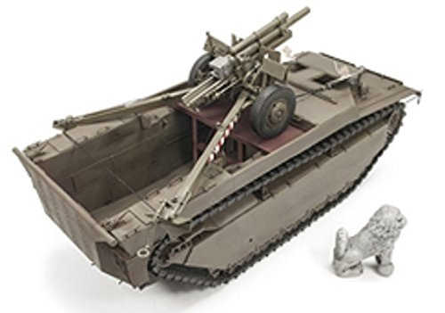 AFV Club DH96008       Model Kit Lvt 4  Buffalo Carrying M2  A1  105  mm HOWITZ