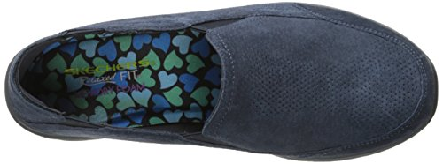 Skechers Relaxed Living Chillax Fashion Sneaker Navy
