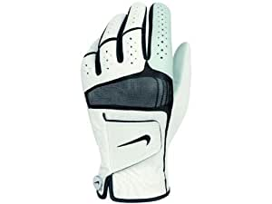 2012 NikeTech Xtreme Cabretta Leather Golf Glove Left Hand White/Black X-Large