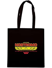 T-Shirtshock - Bolsa para la compra TGAM0083 USCSS Nostromo Starfreighter