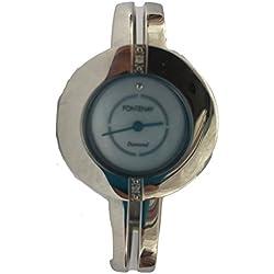 Fontenay Damen-Armbanduhr Analog Quarz doppelt Diamant Armband