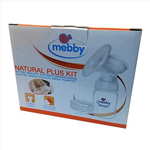 Mebby Contenitore Da 180 ml Per Tiralatte Monocanale Natural Plus