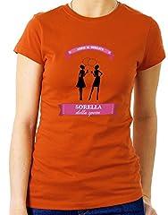Idea Regalo - Tshirt Addio al Nubilato Crew - Sorella della Sposa - Tutte Le Taglie by tshirteria