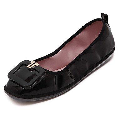 Confortevole ed elegante piatto scarpe donna Appartamenti Primavera / Estate / Autunno square punta / punta chiusa / Appartamenti Casual tacco piatto Altri passeggiate Red