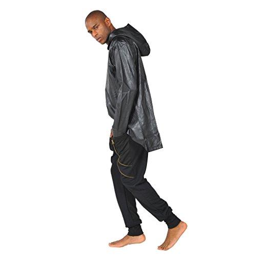 Pizoff Herren Hip Hop High Street Fashion Lang geschnittenes Trägershirt , , Y1145