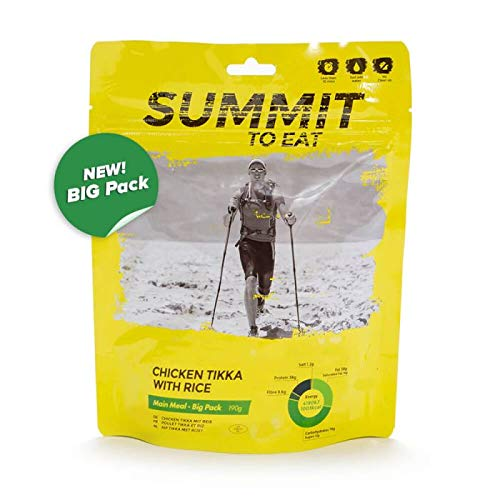 SUMMIT TO EAT Chicken Tikka mit Reis - BIG PACK Gefriergetrocknete Outdoor Nahrung