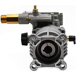 ✦ Pompe de remplacement horizontale 3000 PSI 200 bar & 6.5 HP Pompe de remplacement pour machine à laver ✦ Tête en aluminium, modèle nr. PA000-PW28/2.5
