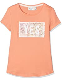 TOM TAILOR Kids Mädchen T-Shirt Tee with Two Sequince Options